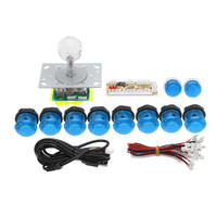 RZQ PC USB Joystick Controller Push Button DIY Set Kit for Arcad