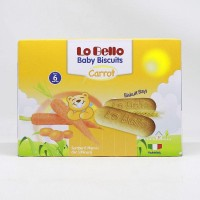 Lo Bello Baby Biscuits Carrot 200gr