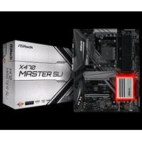 ASROCK X470 Master SLI Socket AM4 Motherboard AMD QXsxVC