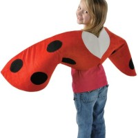 Ladybug Wings Halloween Costume Dress Up Clothes for Little Girls