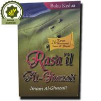 Buku Ar Rasail Al Ghazali Buku Kedua Jilid 2 Original 26 Karya Monumen