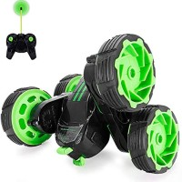 RC Cars Off-Road, 4WD Remote Control Monster Truck Rotate 360 Double S