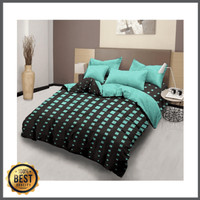 3KG LADY ROSE BEDCOVER SET FLAT QUEEN - KING / 160X200 - 180X200 T20