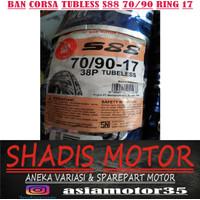 Ban Corsa Tubless S88 70/90 Ring 17