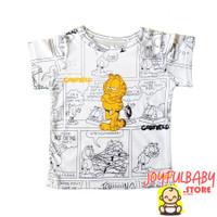 Joyful. Kids Baju Atasan Kaos Anak Laki Laki Full Print Garfield Comic