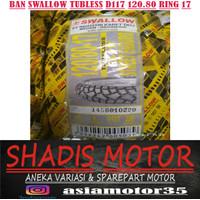 Ban Swallow Tubeless SB-117 Street Enduro 120/80 Ring 17