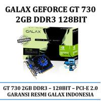 TERMURAH VGA Card GALAX Geforce GT 730 2GB DDR3 128 Bit TERLARIS sp