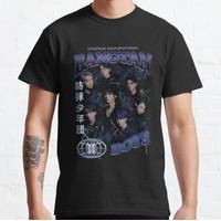 Kaos BTS - World Domination - Vintage 90's Bootleg T-shirt