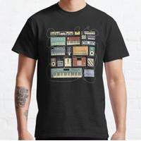Kaos Electronic musician Synthesizer and Drum Machine Dj T-shirt