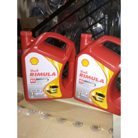 Oli Shell Helix Rimula R2 SAE 40 Galon 5 Liter Original