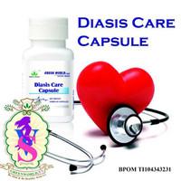 Diasis Care Capsule Green World / Obat Hipertensi / Obat Pembuluh Dara