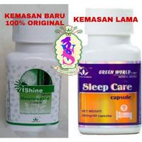 Sleep care capsule green world kemasan baru / Ishine Capsule Green Wor