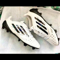 Unik Sepatu Bola Adidas F50 X99.1 White Black Limited