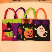 Halloween Supplies Funny Apple Bag Gift Candy Gift Bags Handbag