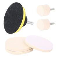 7pcs / Set Alat Poles Kaca Depan Mobil Bahan Kain Microfiber Dengan