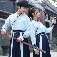 Baju Kostum Hanfu Cina Lengan Panjang Untuk Pria/Wanita/Pasangan