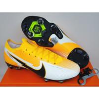 Sepatu Bola Nike Mercurial 13 Elite ANTI CLOG Laser Orange black