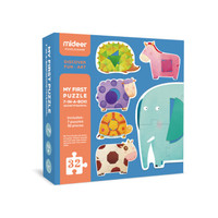 Mideer My First Puzzle Geometry Animal Mainan anak puzzle susun