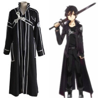 Sword Art Online SAO Kirito Kirigaya Kazuto Complete Costume