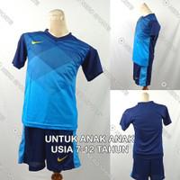 Setelan Baju/Kaos Sepak Bola/Futsal Dri-Fit Print Anak Nike NK145 2