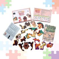 OV603 Q887 Mainan Edukasi Puzzle Tahun Kreatf Usia Toddler 2 Anak