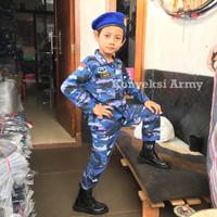 Baju Anak Loreng TNI AU setelan lengkap | AUREL ID