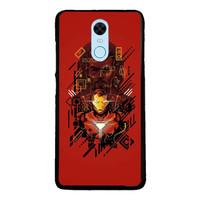 Case Xiaomi Redmi 5 Plus Redmi Note 5 Iron Man Red FF51912