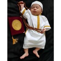 Jubah gamis koko turki bayi newborn dan baju muslim anak laki laki pro