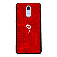 Case Xiaomi Redmi 5 Plus Redmi Note 5 Gaming ROG Red YD0423