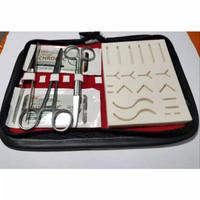 termurah Alat jahit luka /suture pad/hecting/alat bedah/minor set
