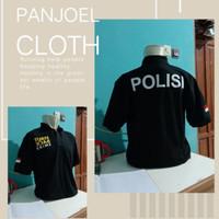 kaos kerah/polo shirt/baju keren TURN BACK CRIME/TBC POLISI