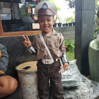 Kostum polisi cilik / pocil / baju polisi anak | AUREL ID