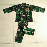 Baju TNI anak / seragam tni / baju karnaval anak | AUREL ID