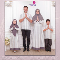 OP624 sarimbit keluarga rauna rk kk ka ra 170 gamis couple baju muslim