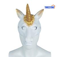 Ts Topeng Unicorn 3d Bahan Lembut Untuk Pesta