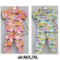 MC188 Piyama Baju Tidur Anak-Anak Baju Tidur Anak Laki-laki Dan Peremp