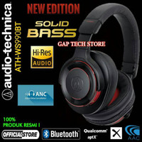 DL415 Audio Technica ATH WS990BT Hi-Res Solid Bass Bluetooth Over-Ear