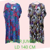 WV505 Daster kencana ungu jumbo L3 LD 140 cm baju tidur wanita batik b