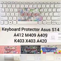 TO043 Keyboard Protector Asus Vivobook Ultra S14 A412 A409 A420 K403 A