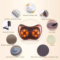 Alat Terapi Pijat Shiatsu Leher Bantal Pijit Portable CAR Massage
