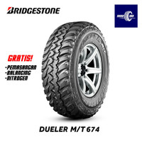 Ban Mobil Bridgestone DUELER D674 MT 235/75 R15