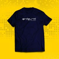 Kaos T-Shirt Love Live School Idol Project YS0414 - Blue Navy