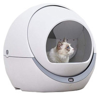 SPECIAL PROMO Automatic Cat Litter Box Smart Litter Tray Toilet
