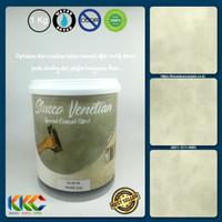 Bahan Cat Stucco Venetian Motif Semen - Marble Grey