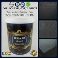 Cat Tekstur Box Speaker - Tekskam Charcoal M 30 - 50 Kemasan 1 Kg
