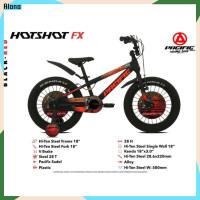 Sepeda anak 18 BMX Pacific Hotshot Fx 3.0 alloy ban besar jumbo