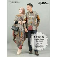 couple (sarimbit) kaftan motif batik solo ORI bahan paris premium