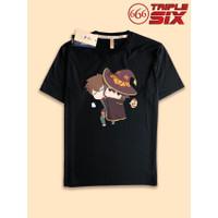 Kaos Tshirt Anime konosuba Megumin Satou chibi
