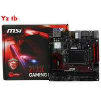 NEW Msi Z170I Motherboard Gaming Pro Ac 1151itx Support I56400T6
