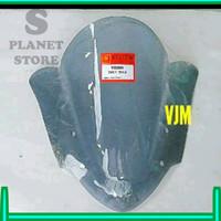 Splanet MIKA VISOR WINDSHIELD VIXION 2013 2014 HITAM TRANSPARAN SMOKE